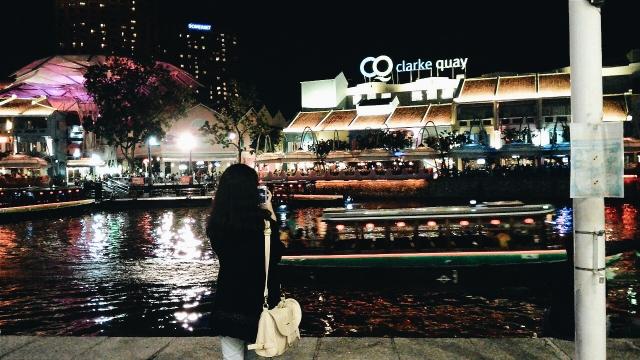 Anista Fefiana - Clarke Quay